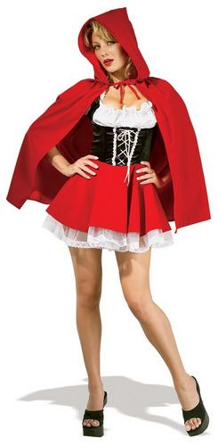 Red Riding Hood Fancy Dress Costume Thumbnail 1