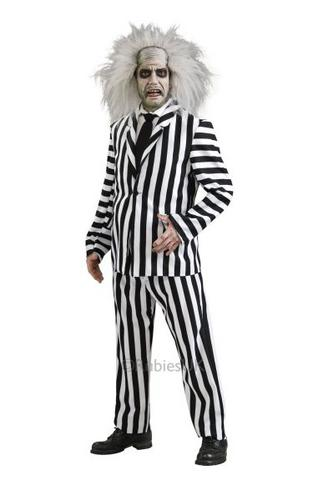 Beetlejuice Fancy Dress Costume Thumbnail 1