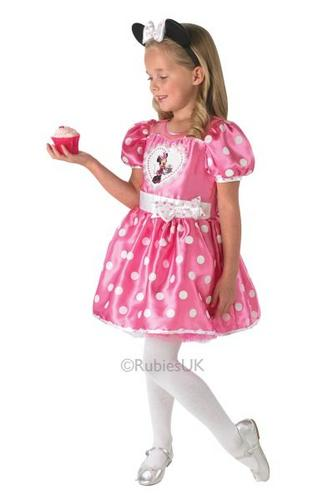 Disney Cupcake Pink Minnie Costume Thumbnail 1