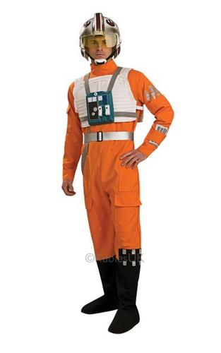XWing Pilot Fancy Dress Costume Thumbnail 1