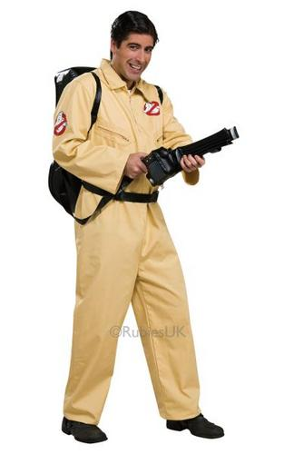 Ghostbusters Deluxe Fancy Dress Costume Thumbnail 1
