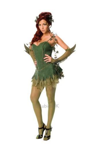 Poison Ivy Fancy Dress Costume Thumbnail 1