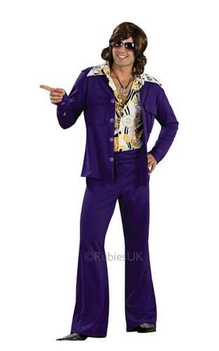Purple Leisure Suit Costume Thumbnail 1