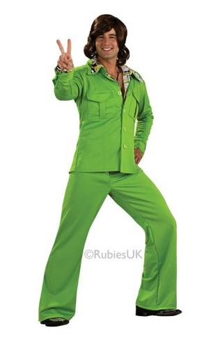 Green Leisure Suit Costume Thumbnail 1