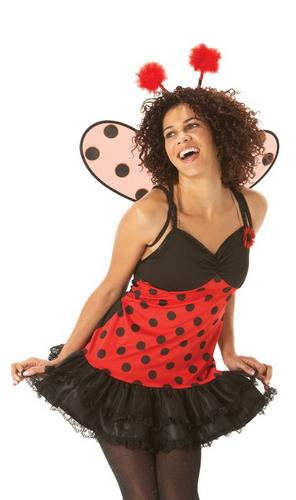 Ladybird Dress Fancy Dress Costume Thumbnail 1