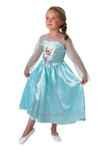 Disney Frozen Princess Classic Elsa Costume Thumbnail 1