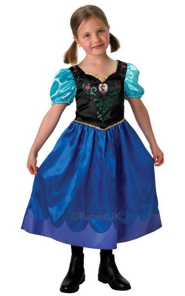 Disney Frozen Classic Anna Costume Thumbnail 1