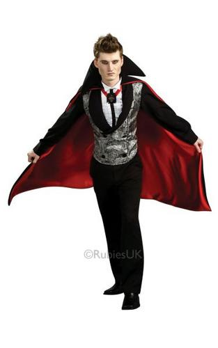 Nightfall Vampire Fancy Dress Costume Thumbnail 1