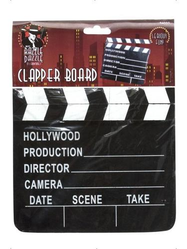Clapper Board 7X 8 Hollywood Film Prop Thumbnail 1
