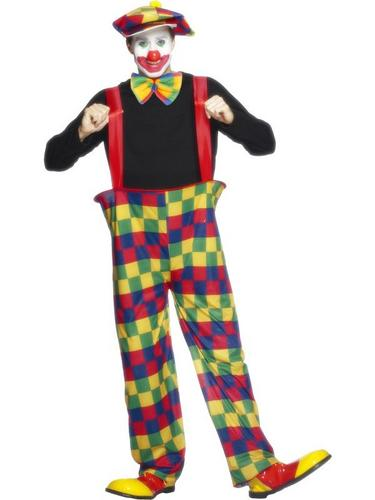 Clown Fancy Dress Costume Thumbnail 1