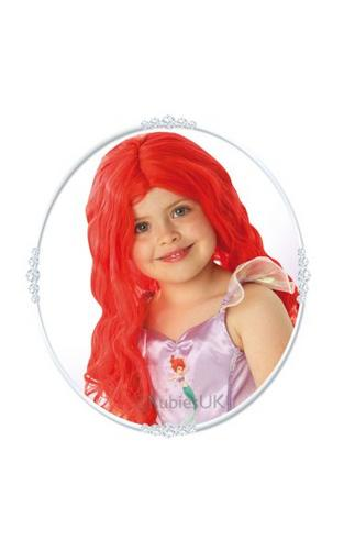 Little Mermaid Fancy Dress Wig Thumbnail 1