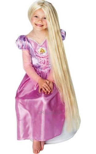 Rapunzel Fancy Dress Wig Thumbnail 1