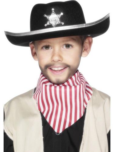 Childs Sheriff Fancy Dress Hat Thumbnail 1