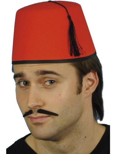 Fez Fancy Dress Hat Thumbnail 1