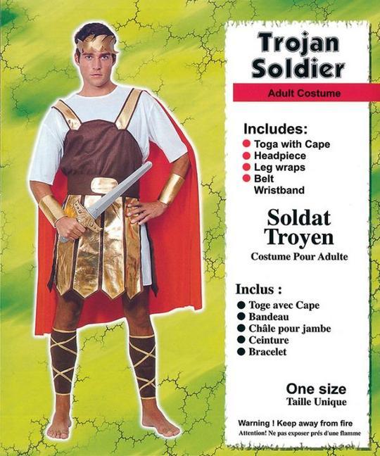 Adult Trojan SoldierCostume Thumbnail 1
