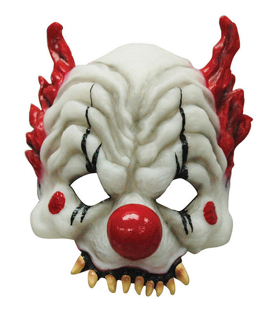 Horror Clown Mask Thumbnail 1