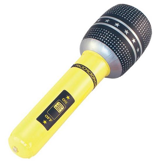 "Inflatable Microphone 18"" Thumbnail 1"