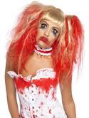 SALE! Blood Drip Zombie Wig Ladies Halloween Party Fancy Dress Costume Accessory