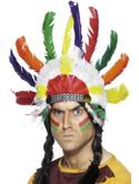 Sitting Bull Indian Headdress