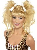 Crazy Cavegirl Bunches Wig