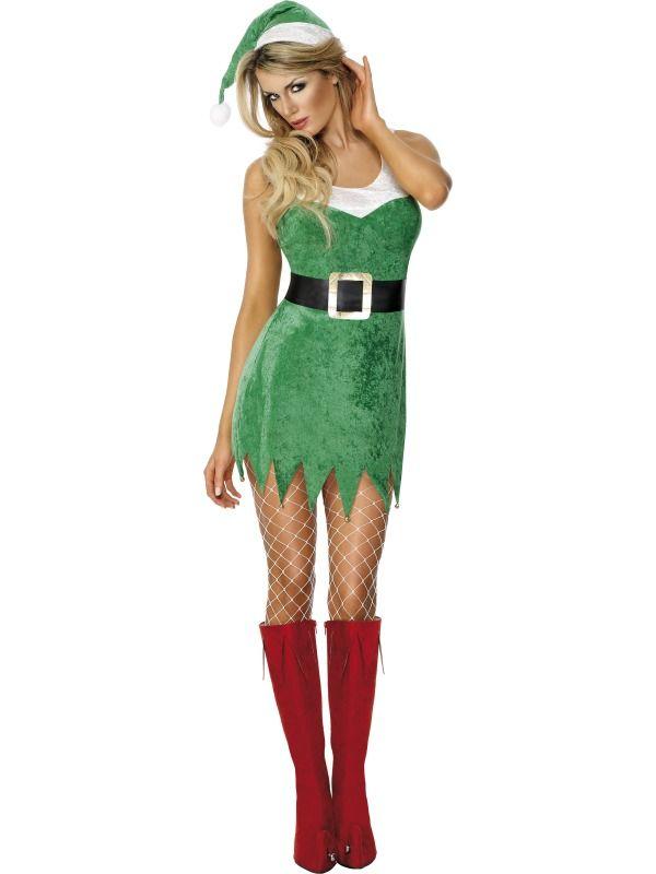 Santas Sexy Little Helper Fancy Dress Costume