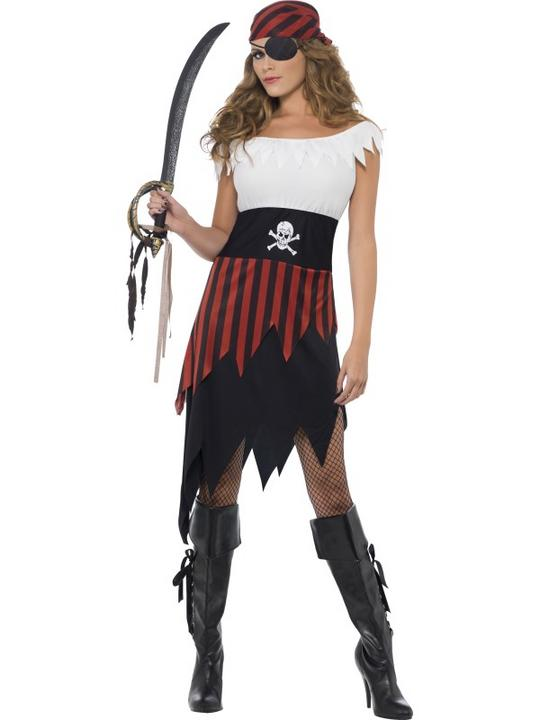 Pirate Wench Fancy Dress Costume Thumbnail 1