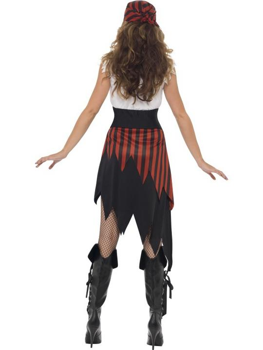 Pirate Wench Fancy Dress Costume Thumbnail 2