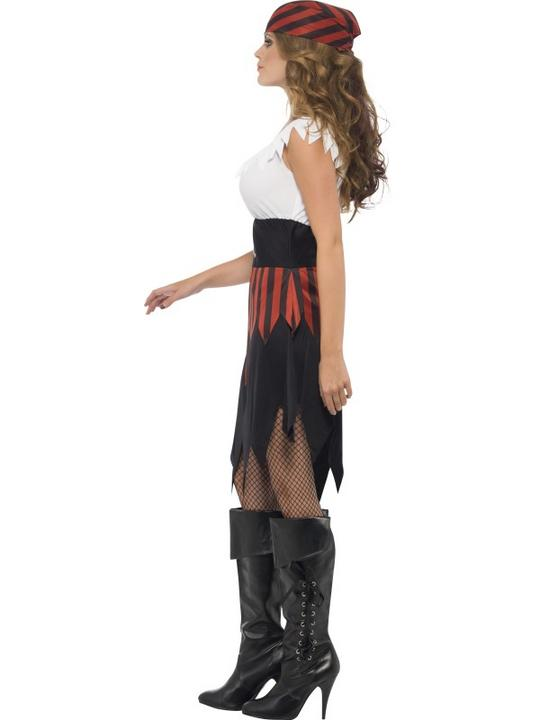 Pirate Wench Fancy Dress Costume Thumbnail 3