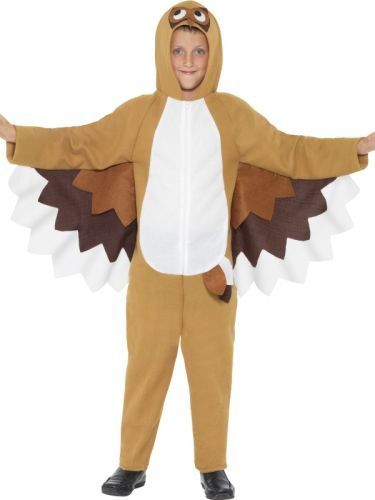 Childrens-Funny-Zoo-Animal-Wise-Owl-Book-Week-Fancy-Dress-Kids-Costume-Outfit