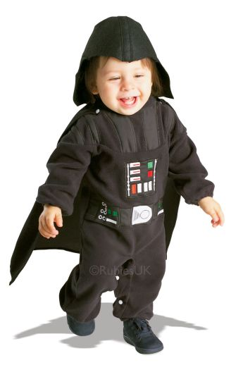 Baby Darth Vader Fancy Dress Costume