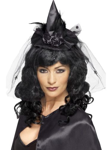 Black Adult Witch Hat Mini