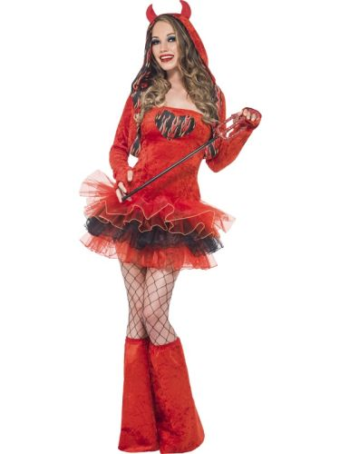 Fever Devil Tutu Dress