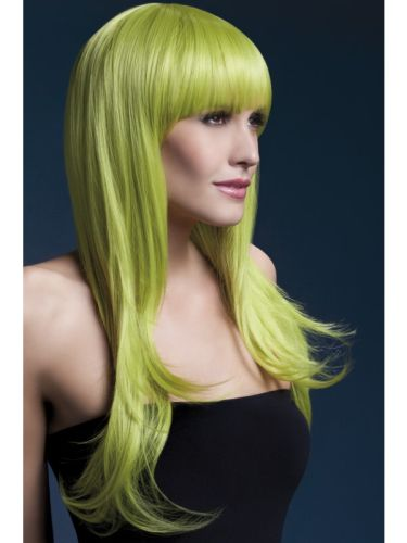 Fever Sienna Wig Pastel Green