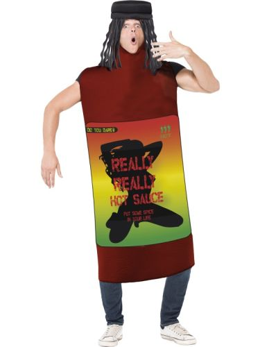 Really Really Hot Sauce Costume