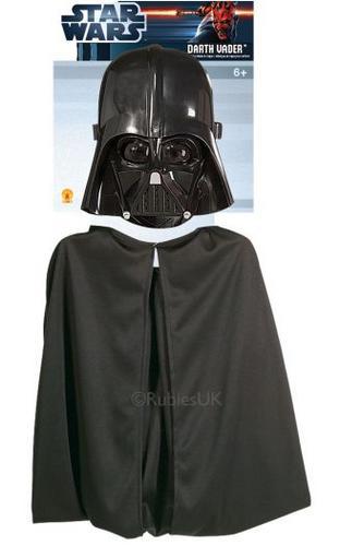 Kids Darth Vader Cape Set Thumbnail 1