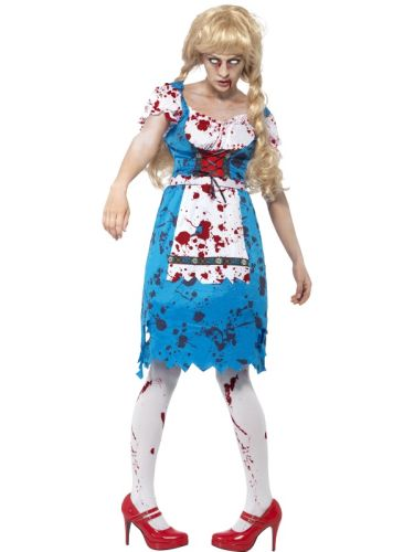 Zombie Bavarian Female Costume Thumbnail 1