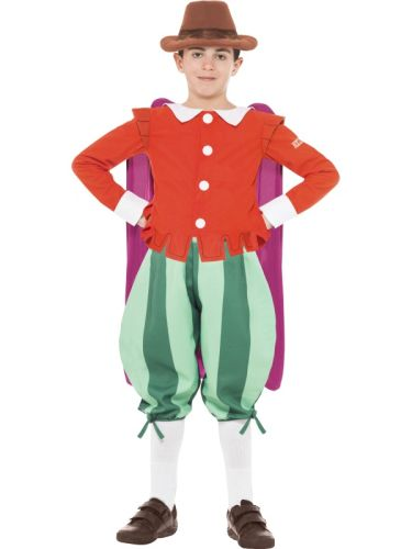Horrible Histories, Childs Guy Fawkes Costume Thumbnail 1