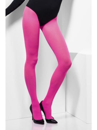 Opaque Tights Pink Thumbnail 1
