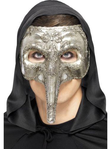Luxury Venetian Capitano Mask Thumbnail 1