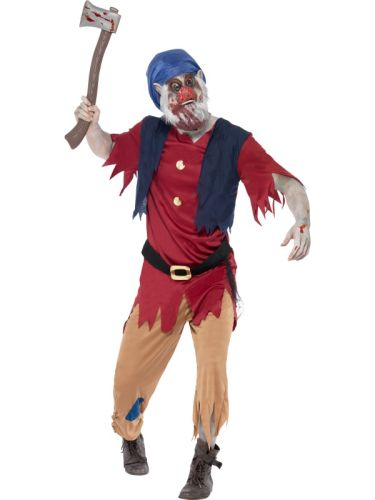 Male Zombie Dwarf Costume Thumbnail 1