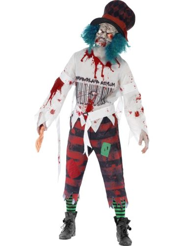 Male Zombie Hatter Costume Thumbnail 1