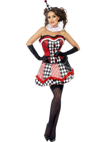 Fever Boutique Clown Cutie Costume Thumbnail 1