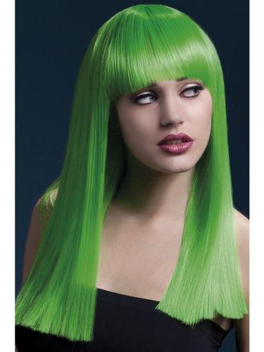 Fever Alexia Wig Neon Green Thumbnail 1