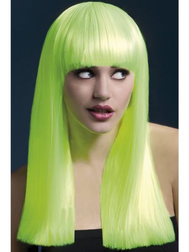 Fever Alexia Wig Neon Yellow Thumbnail 1