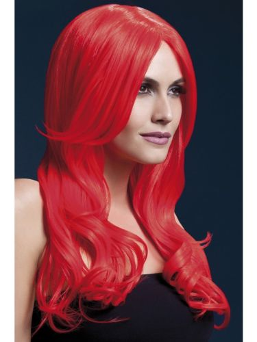 Fever Khloe Wig Neon Red Thumbnail 1