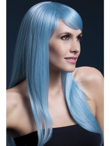 Fever Sienna Wig Pastel Blue Thumbnail 1