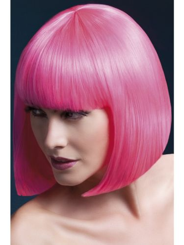Fever Elise Wig Neon Pink Thumbnail 1