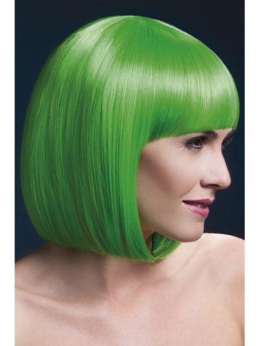 Fever Elise Wig Neon Green Thumbnail 1