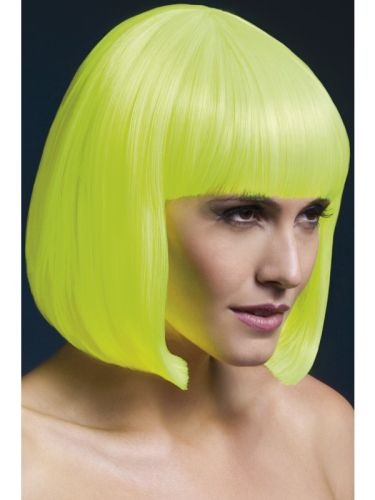 Fever Elise Wig Neon Yellow Thumbnail 1