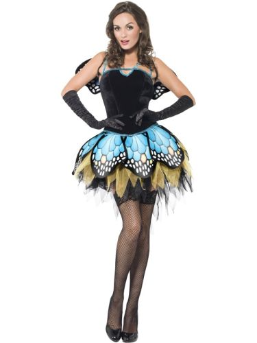 Fever Boutique Butterfly Costume Thumbnail 1